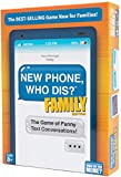 New Phone, Who Dis? Family Edition - The Text Message Family Party Game