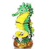 Waltz&F Mini Seahorse Trinket Box Hinged Hand-painted Animal Figurine Collectible Ring Holder