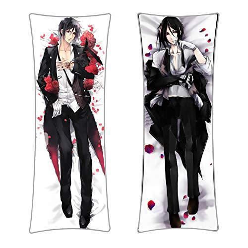 CoolChange Black Butler Umarmungskissen Sebastian Michaelis Bezug, Dakimakura Kissenbezug 150x50cm
