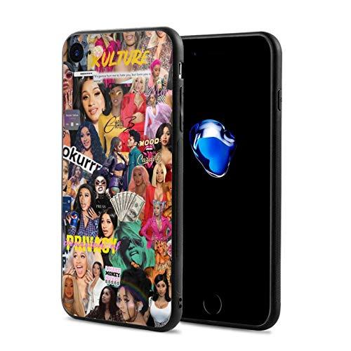 Dansony C-Ar-Di -B iPhone 7 Mobile Phone Case, iPhone 8 Mobile Phone Case, Fashionable Shockproof iPhone 7/8 Mobile Phone Case (4.7 Inches)