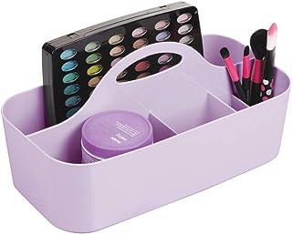 mDesign Corbeille cosmétique avec 6 Compartiments – bac de Rangement pour Douche portatif en Plastique pour Accessoires de...