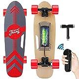 Tooluck Electric Skateboard Monopatín eléctrico con Mando a Distancia...