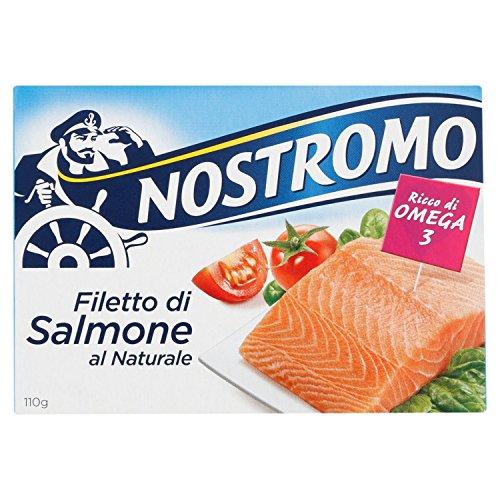 Nostromo Filetto di Salmone, al Naturale, 110g