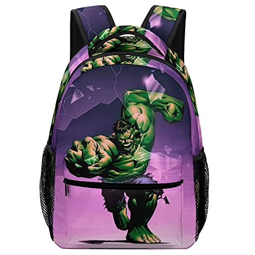 Hulk Children's Schoolbags, High-Capacity Backpacks For Primary And Middle School Students Ultra-Lightweight And Multi-Compartment