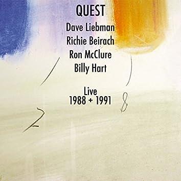 Dave Liebman & Richie Beirach: Quest Live 1988 + 1991