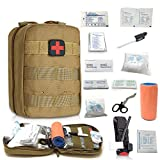 Emergency Trauma Tactical Kit - First Aid SurvivalKit - First Medical Portable Kit for Military Car...