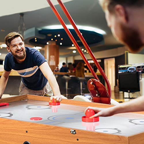 Giantex Multi Game Table Pool Hockey Foosball Table Tennis Billiard Combination Game Table (48 3-in-1)