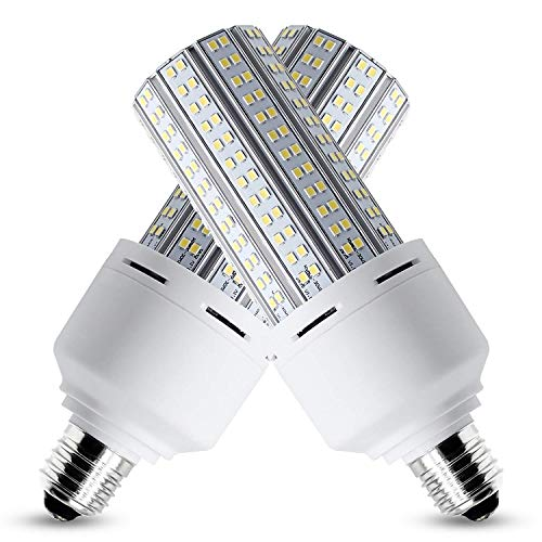 100W LED Corn Light Bulb,E39Jarge Mougl Base,13500Lm 3000K,for Gas Station Parking Lot Corridor Mall Street Lamp Garage Factory Warehouse High Bay Barn Porch Backyard Garden etc Outdoor Large Area
