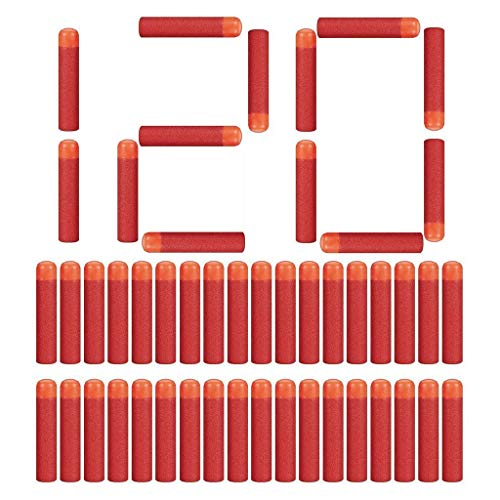 LVHERO 120 Pfeile Dart Bullets für Nerf N Strike Mega Blaster