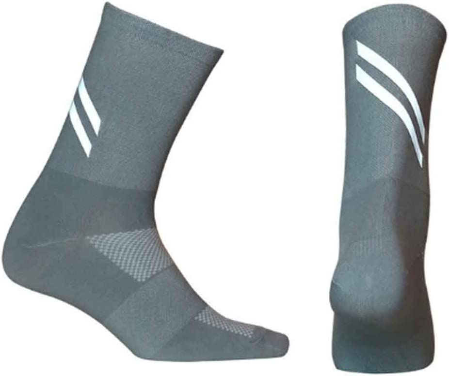 GPPZM 10 Pairs New Sales for Long Beach Mall sale Highly Reflective Women Bre Men Socks Cycling