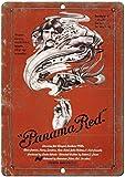 KODY HYDE Metall Poster - Panama Red - Vintage