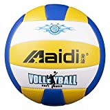Maidi Ballon de Beach-Volley, Ballon de Volley Soft Touch pour Adultes et Enfants