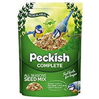 Garden Bird Food - Complete 5 in 1 Seed Mix Enjoy up to 16 attractive birds in the garden With added Calvita nutrients No mess, No waste Easy Pour Spout High Energy Use: Feeder, Table and Ground Recommended for: Chaffinches, Blackbirds, Song Thrushes...
