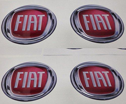 GTBTUNING 55 mm Tuning Effetto 3D 3m resinato coprimozzi Borchie Caps Adesivi Stickers per Cerchi in Lega x 4 Pezzi 020
