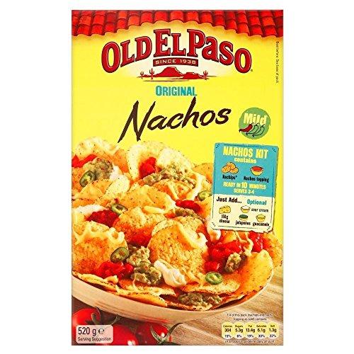 Old El Paso Kit Cena Nacho Originale (520g) (Confezione da 2)