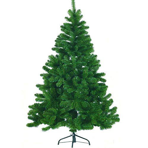 fake christmas trees YJZ 5.9Ft Fake Christmas Tree Artificial Christmas Tree, 180Cm Unlit Christmas Tree with Decorations, Eco-Friendly Xmas Tree Christmas Home Decor