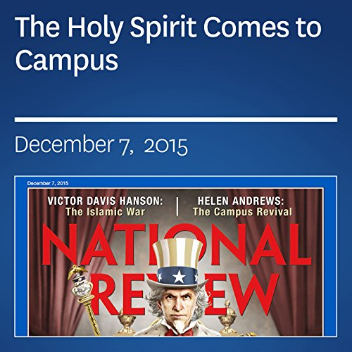 The Holy Spirit Comes to Campus audiobook cover art