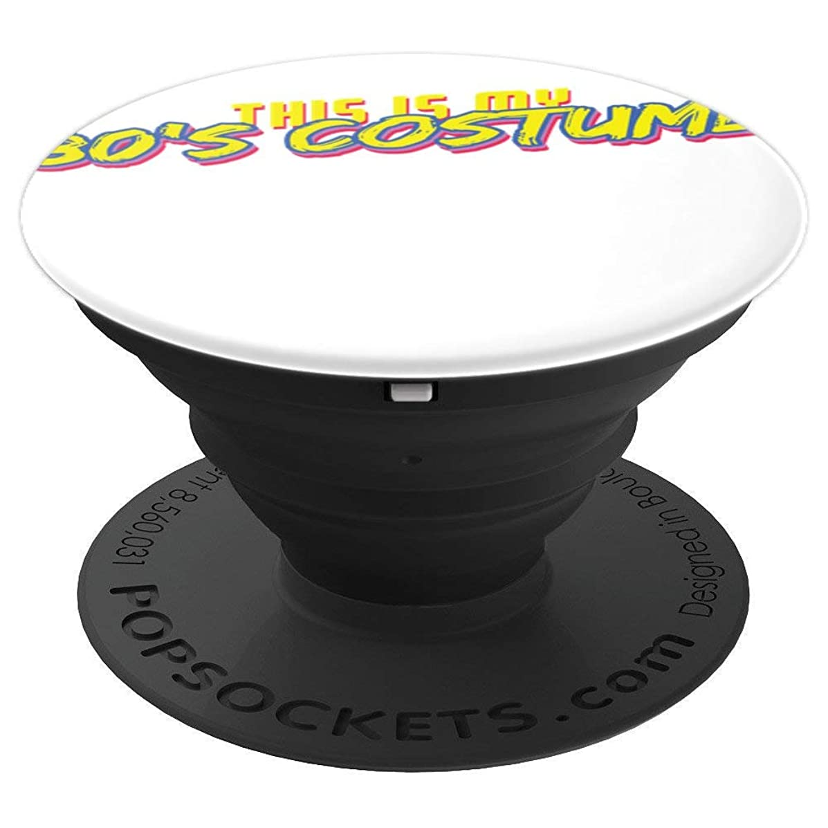 This Is my 80s Costume T Shirt 80s Styles lovers Tee Shirts PopSockets Grip and Stand for Phones and Tablets