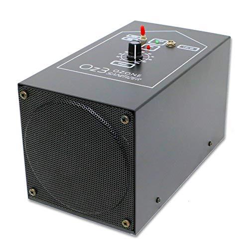 Generador de Ozono – Oz3 – 12 V/220 V para coche, caravana y ambiente, desinfectante de aire, tecnología de cuarzo y doble alimentación