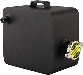 Negro motor de aluminio Tanque colector de aceite Respirador Lata Dep/ósito Accesorios para la modificaci/ón del autom/óvil EBTOOLS Tanque colector de aceite