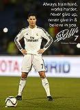 Cristiano Ronaldo # 84 – Motivationszitat – signiert