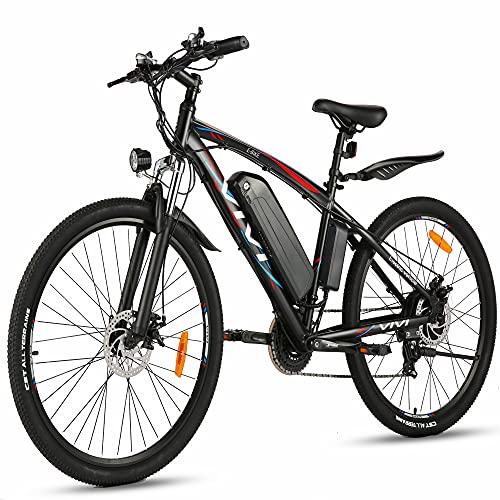 VIVI Bicicletta Elettrica 500W Mtb 27,5 Mountain Bike Donna Uomo Ebike, 48V/10.4Ah Batteria, Cambio Shimano 21 Velocità Bici Elettrica Trekking