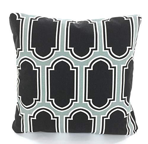 Alicert5II Zwarte grijze kussensloop decoratieve sierkussens Kussen zwart k ¹ 1licht grijswit Fargo sofa kussen