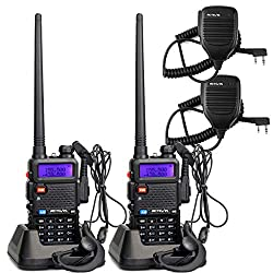 Retevis RT-5R Dual Band Two Way Radio, Long Range Walkie Talkies...