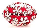 Aqua-Speed Splash Ball | Water Polo | Football | Beach Ball | Pool Ball | Lance Ballon | Néoprène | Coloré | Non coulant | Rouge - Blanc