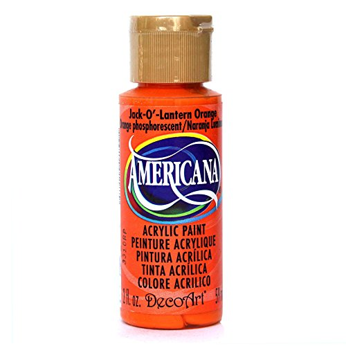 DecoArt DA229-3 Paint Acrylic Jack O Lantern Orange 2OZ