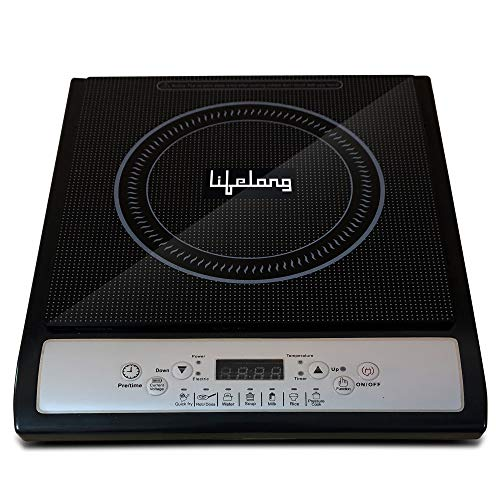 Lifelong Inferno LLIC12 2000-Watt Induction Cooktop (Black)