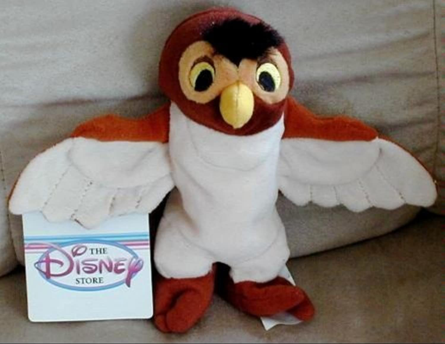 venta de ofertas Disneys Wise Old Owl From From From Winnie the Pooh Bean Bag Beanie Plush Doll Juguete by Disney  servicio de primera clase