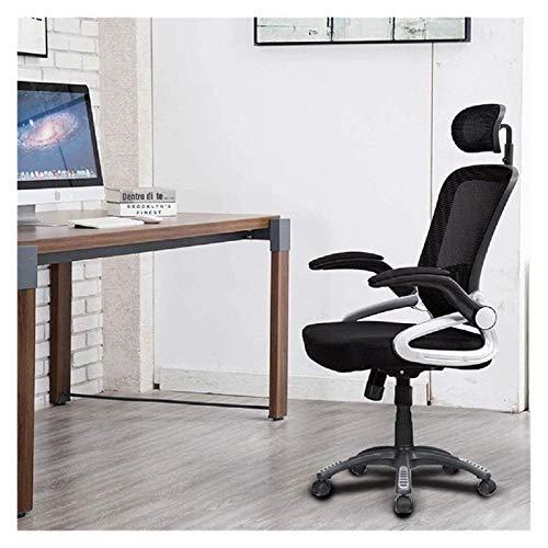 Sedia da Ufficio Sedia da ufficio Sedia da scrivania girevole sedia ergonomica sedia ergonomica tastriche a rete Sedia per computer Sedia regolabile Poltrona ( Color : Black , Size : Free size )