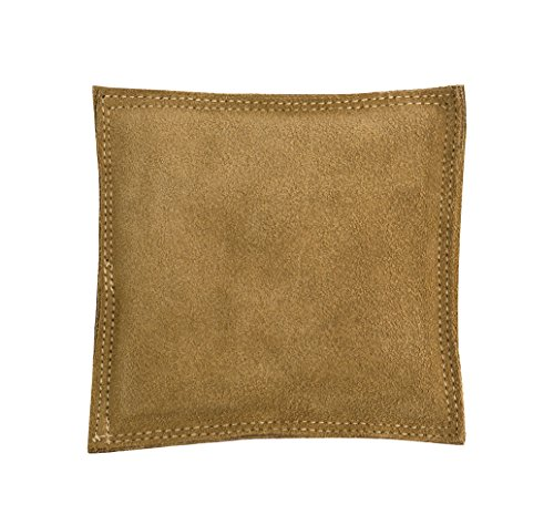 """5"""" Square Leather Sandbag Cushion for Metal Dapping Stamping Hammering Chasing Forming Jewelry Tool Work Surface"""