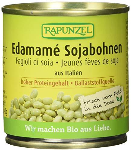 Rapunzel Sojabohnen Edamamé, in der Dose, 6er Pack (6 x 200 g)
