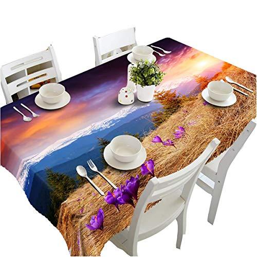 Chen Nappes Européenne 3D Petite Table Ronde Nappe Carrée Nouveau Chinois Table Ronde Table Basse Tissu Tissu Maison Classique Style Chinois Nappe (Color : Color, Size : 80cmx130cm)