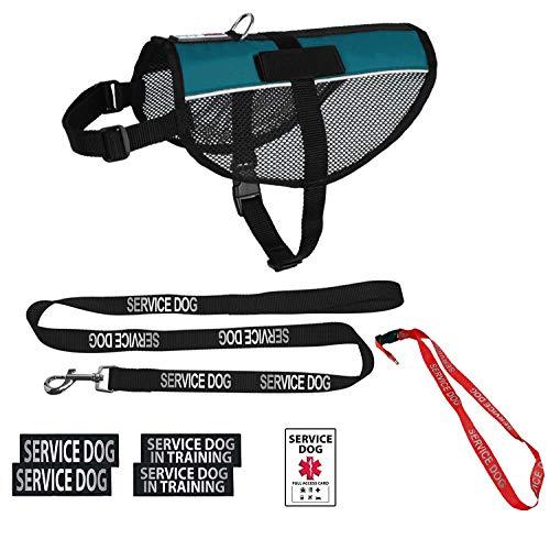 Dogline Service Dog Vest Harness Bundle