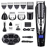 Best Cordless Hair Trimmers - Beard Trimmer for Men, ALLFU Cordless Mustache Trimmer Review