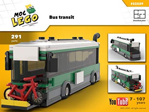 Bus Transit (Instruction Only): Moc LEGO (English Edition)