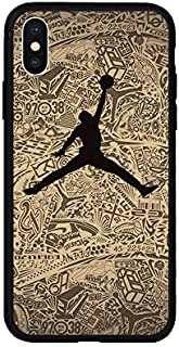 1 piece Jordan AIR 23 Fly man Soft Case for iPhone 7 7Plus 8 8Plus 6 6Plus 6s 6sPlus X Xs XR Xs Max 5 5s SE Phone Cover Coque Hull Capas