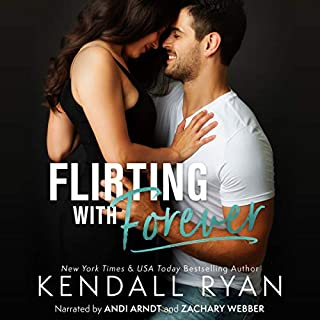 Flirting with Forever audiobook cover art