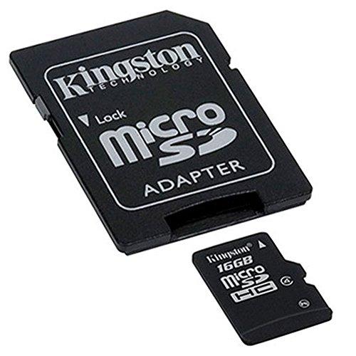 Original MicroSD SDHC Speicherkarte + Reader Adapter für Samsung Galaxy A3A5A7Duos Ace 34NXT Style Core I8260II 2LTE plus Prime E5E7Fresh S7390Grand Neo Max TV 432Edge, S5, S4, S3