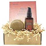 THRIVE Shave & Moisturize Skincare Kit (2 Piece) – Natural Shave & Shower Bar and Face Moisturizer Gift Set for Men and Women – Made in USA with Organic & Unique Natural Ingredients – Vegan