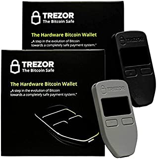 BitcoinのブラックとグレーSatoshi Labs Trezorセーフ財布ストレージオフライン財布セーフBTC Litecoin LTC Namecoin Dogecoinダッシュ