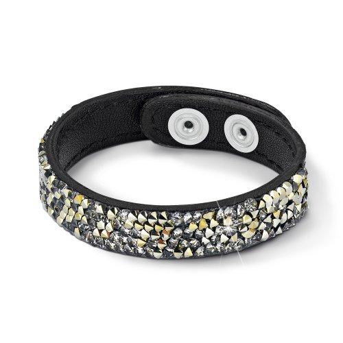 s.Oliver Jewels Damen-Armband Leder Messing 423939