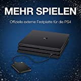 Seagate Game Drive PS4/PS5, 2 TB, tragbare externe Festplatte, 2.5 Zoll, USB 3.0, Modellnr.: STGD2000200