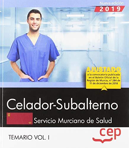 Celador-Subalterno. Servicio Murciano de Salud. SMS. Temario Vol. I: 1