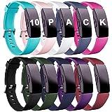 Zekapu Bracelet Compatible pour Fitbit Inspire & Inspire HR and Ace 2, Bracelet de...