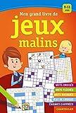 Mon grand livre de jeux malins : Pour les enfants de 9 à 11 ans