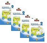Holle Orgánica leche de cabra Based en leche 2, (Pack de 4 x 400 g)